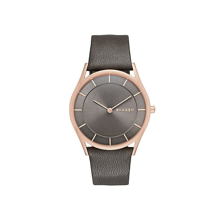 Skagen Holst Ladies' Rose Gold Tone Strap Watch - Product number 3815951