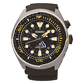 Seiko Kinetic men's stainless steel watch - Product number 3819841