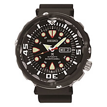 Seiko Kinetic men's stainless steel & ion-plated strap watch - Product number 3819868