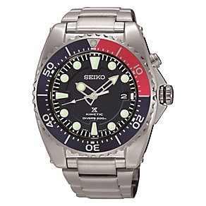 Seiko Kinetic men's stainless steel bracelet watch - Product number 3819884