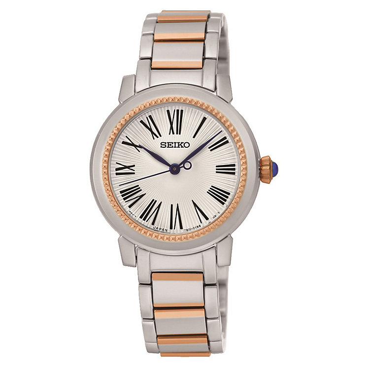 Seiko Premier ladies' two colour bracelet watch - Product number 3819965