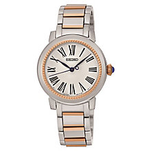 Seiko Premier ladies' two colour bracelet watch - Product number 3819965