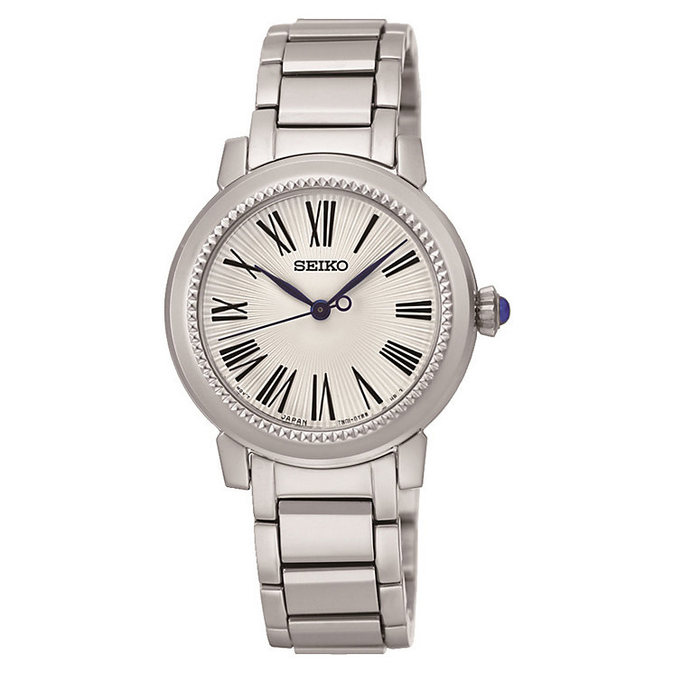 Seiko ladies' stainless steel bracelet watch - Product number 3819973