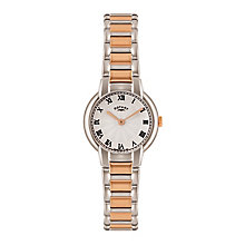 Rotary Ladies' Stainless Steel Two Colour Bracelet Watch - Product number 3820203