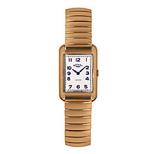 Rotary Ladies' Gold-plated White Dial Bracelet Watch - Product number 3820238