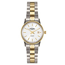 Rotary Avenger ladies' two colour bracelet watch - Product number 3823903