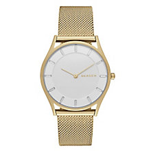 Skagen Holst Ladies' Gold Tone Bracelet Watch - Product number 3823954