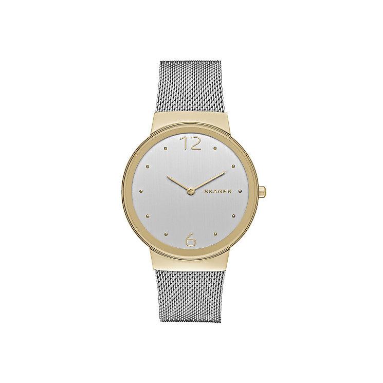 Skagen Freja Ladies' Two Colour Bracelet Watch - Product number 3823970