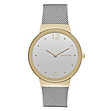 Skagen Freja Ladies' Two Colour Bracelet Watch - Product number 3823970