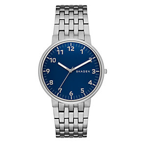 Skagen Ancher Men's Stainless Steel Bracelet Watch - Product number 3824039