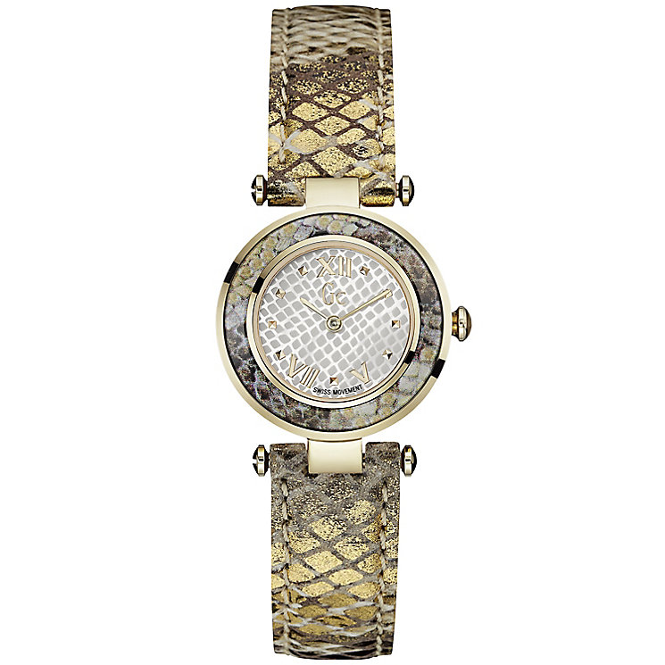 GC Ladychic ladies' gold-plated strap watch - Product number 3824349
