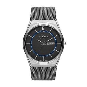Skagen Men's Grey Stainless Steel Mesh Bracelet Watch - Product number 3824500