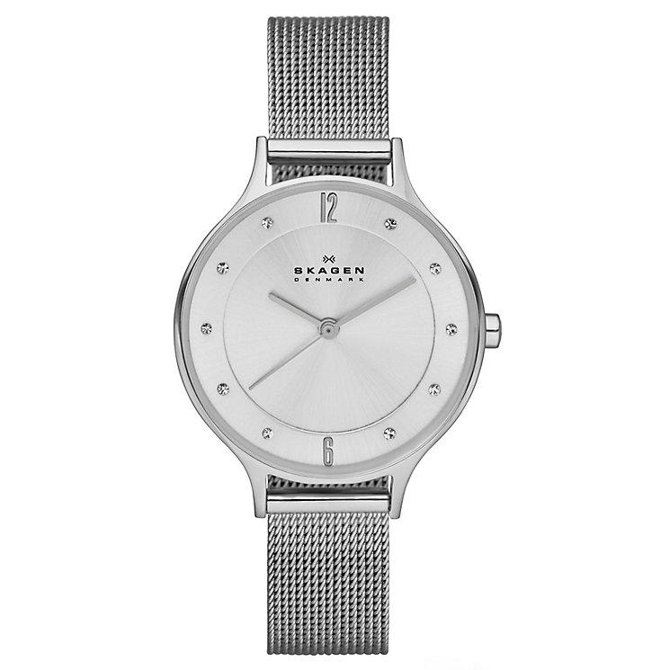 Skagen Ladies' Stainless Steel Mesh Bracelet Watch - Product number 3824659