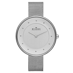 Skagen Ladies' Stainless Steel Mesh Bracelet Watch - Product number 3824713