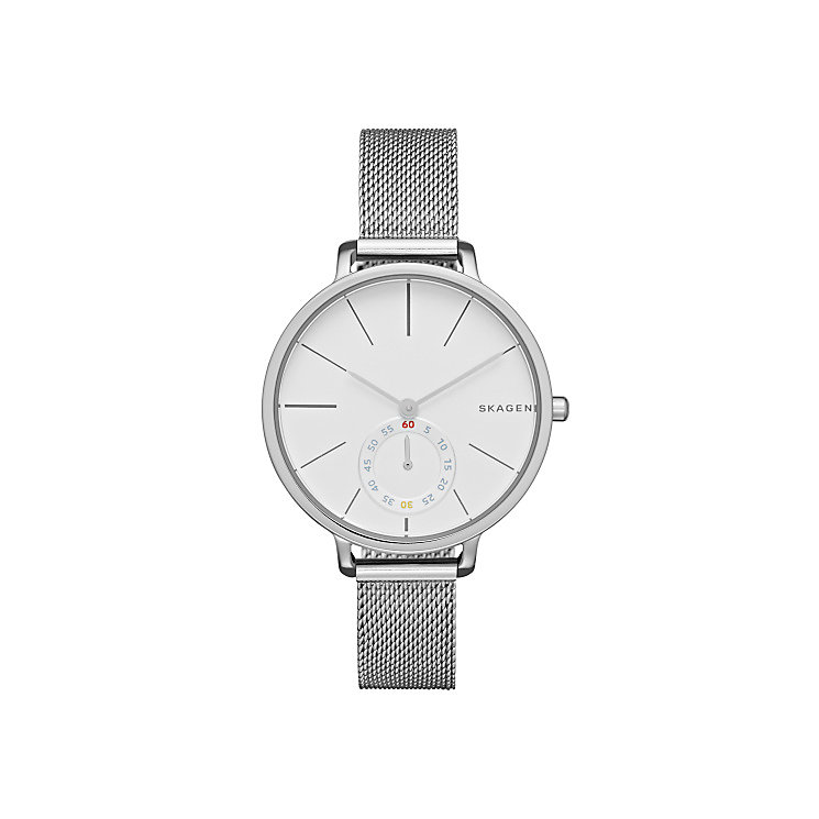Skagen Ladies' Stainless Steel Mesh Bracelet Watch - Product number 3824837