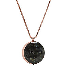 Skagen Faro Labradorite Rose Gold Tone Necklace - Product number 3824853