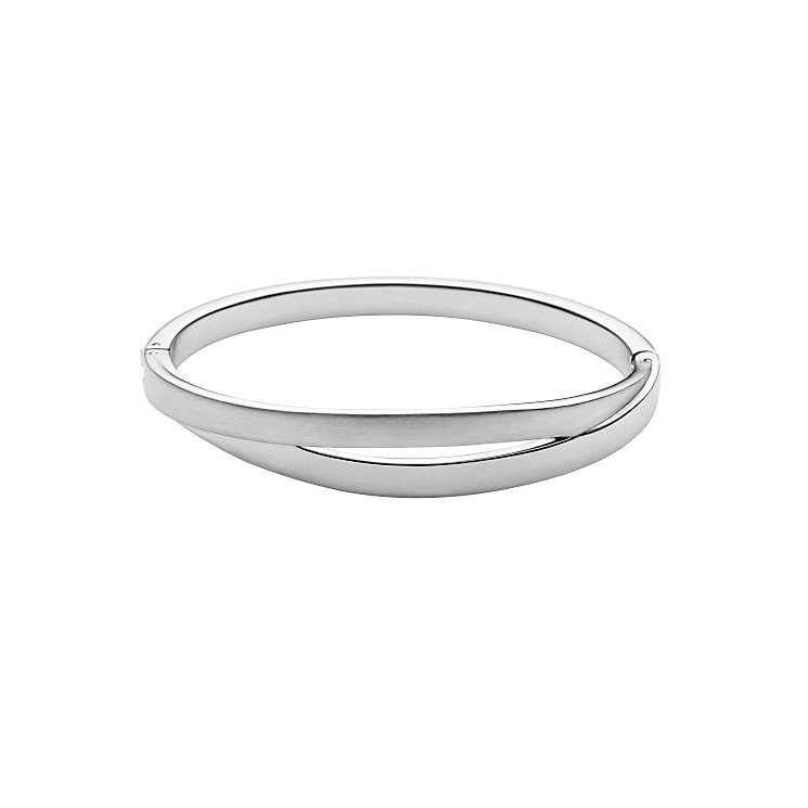 Skagen Elin Silver Tone Bangle Bracelet - Product number 3824926