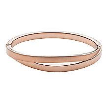 Skagen Elin Rose Gold Tone Bangle Bracelet - Product number 3824934