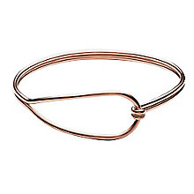 Skagen Anette Rose Gold Tone Bangle Bracelet - Product number 3824942