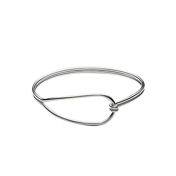 Skagen Anette Silver Tone Bangle Bracelet - Product number 3824950