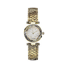 GC Ladies' Ladychic Gold-plated Strap Watch - Product number 3825043