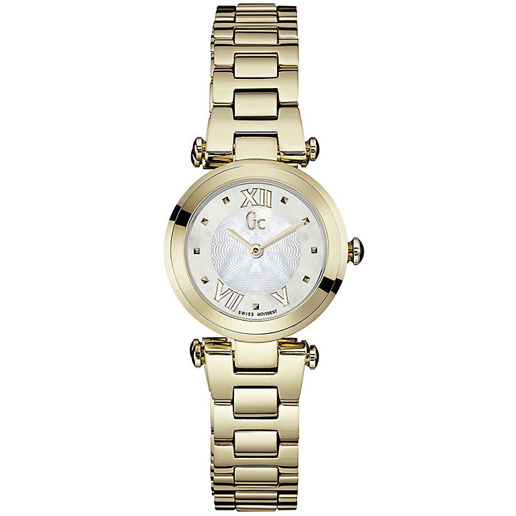 GC Ladychic ladies' gold-plated bracelet watch - Product number 3825051