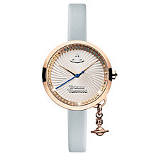 Vivienne Westwood Bow ladies' gold-plated strap watch - Product number 3825167