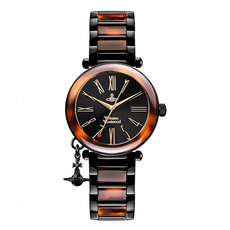 Vivienne Westwood Orb ladies' ion-plated bracelet watch - Product number 3825183