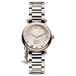 Vivienne Westwood Orb Ladies' Two Colour Bracelet Watch - Product number 3825191