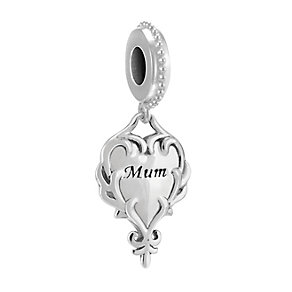 Chamilia Sterling Silver A Heart's Reflection Mum Bead - Product number 3829790