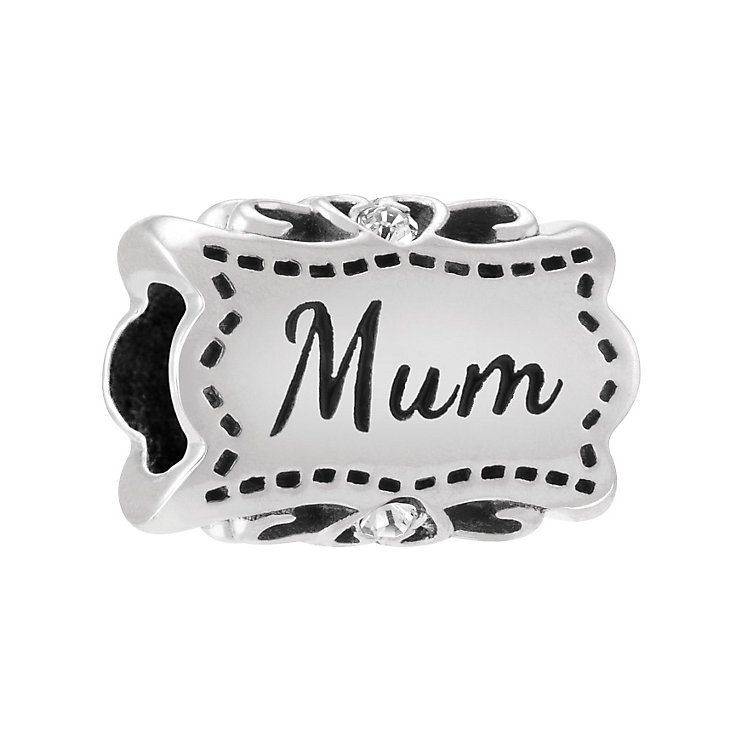 Chamilia Sterling Silver Lovely Mum Bead - Product number 3829812