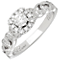 Neil Lane 14ct White Gold 0.54ct Diamond Vine Ring - Product number 3830756