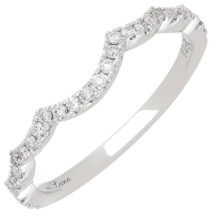 Neil Lane 14ct White Gold 0.20ct Diamond Wedding band - Product number 3831140