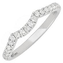 Neil Lane 14ct White Gold 0.28ct Diamond Wedding Ring - Product number 3831418