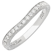 Neil Lane 14ct White Gold 0.30ct Diamond Wedding band - Product number 3832112