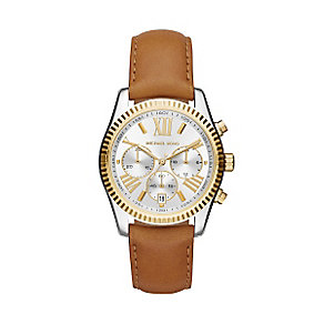 Michael Kors Ladies' Two Coloured Strap Watch - Product number 3833941