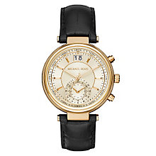 Michael Kors Ladies' Gold Tone Strap Watch - Product number 3833968