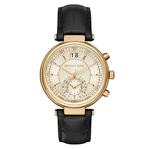 Michael Kors Ladies' Gold-plated Strap Watch - Product number 3833968