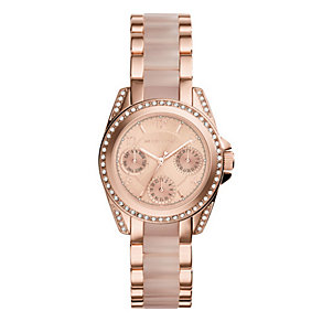 Michael Kors Ladies' Rose Gold-plated Bracelet Watch - Product number 3833976