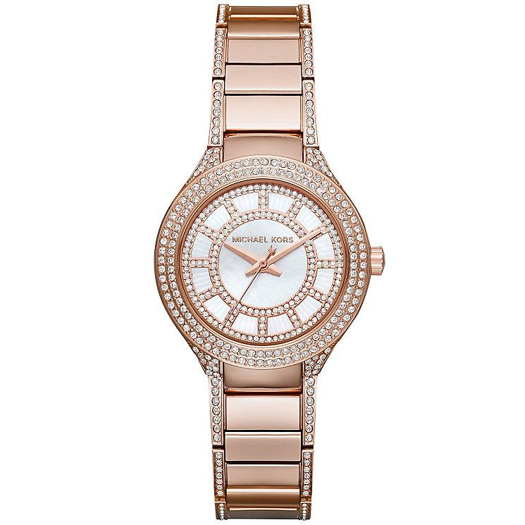 Michael Kors Ladies' Rose Gold Tone Bracelet Watch - Product number 3833984