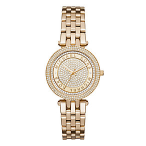 Michael Kors Darci  Ladies' Gold-plated Bracelet Watch - Product number 3834042