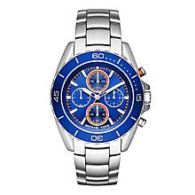 Michael Kors Men's Stainless Steel Jet Blue Bracelet Watch - Product number 3834085