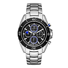 Michael Kors Men's Stainless Steel Jet Black Bracelet Watch - Product number 3834093