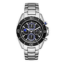 Michael Kors Men's Stainless Steel Jet Black Bracelet Watch - Product number 3834093