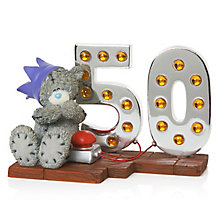 Me To You Light Up At 50 - Product number 3837033