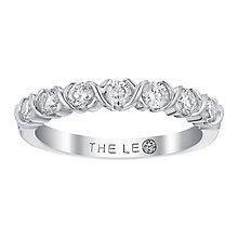 Leo Diamond 18ct white gold 1/2ct I I1 diamond ring - Product number 3840417