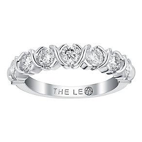 Leo Diamond 18ct white gold 1.12ct I I1 diamond ring - Product number 3840689