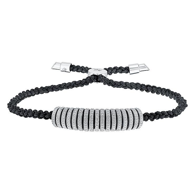 Amanda Wakeley Icon sterling silver diamond bracelet - Product number 3842185