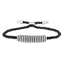 Amanda Wakeley Icon sterling silver diamond bracelet - Product number 3842185