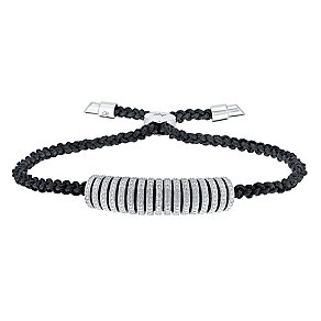 Amanda Wakeley Iconic sterling silver diamond bracelet - Product number 3842185